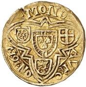 1 Goldgulden - Lothar von Metternich – reverse