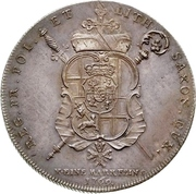 1 Thaler - Clemens Wenzel von Sachsen (Konventionstaler) – reverse