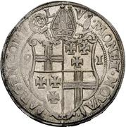 1 Thaler - Johann VII. von Schönenberg – reverse