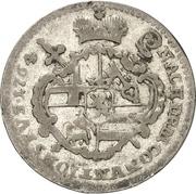 5 Kreuzer - Johann Philipp von Walderdorff – reverse