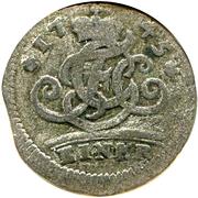 1 Kreuzer - Franz Georg von Schönborn – reverse