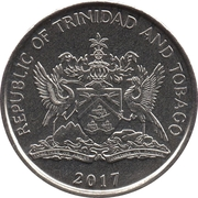 25 Cents (Magnetic) – obverse