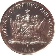 25 Cents (Independence) – obverse