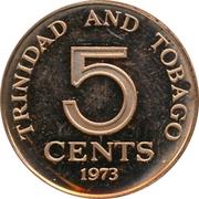 5 Cents - Elizabeth II – reverse
