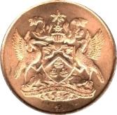 5 Cents - Elizabeth II (Independence) – obverse
