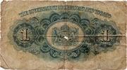 1 Dollar - George VI – reverse