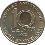 10 Cents - Elizabeth II (Independence) – reverse