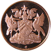 1 Cent - Elizabeth II (Set Issue) – obverse