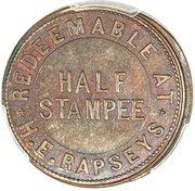 ½ Stampee – reverse