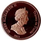 2 Pence - Elizabeth II (4th portrait; Nightingale Island) – obverse