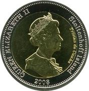 25 Pence - Elizabeth II (4th portrait; Stoltenhoff Island) -  obverse