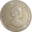 10 Pence - Elizabeth II (4th portrait; St. Helena Dependency) – obverse