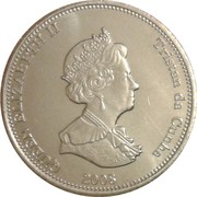 10 Pence - Elizabeth II (4th portrait; St. Helena Dependency) – obverse