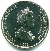 5 Pence - Elizabeth II (4th portrait; Stoltenhoff Island) – obverse