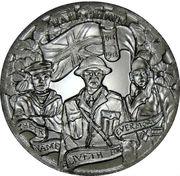 ½ Crown - Elizabeth II (WW1 Centenary) – reverse