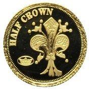 ½ Crown - Elizabeth II (Florin) – reverse