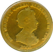 ½ Crown - Elizabeth II (Sovereign) – obverse