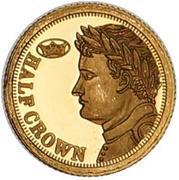 ½ Crown - Elizabeth II (Napoleon - Fabula Aurum) – reverse