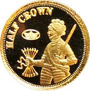 ½ Crown - Elizabeth II (Ducat - Fabula Aurum) – reverse