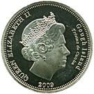 5 Pence - Elizabeth II (4th portrait; Gough Island) – obverse