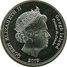 10 Pence - Elizabeth II (4th portrait; Gough Island) – obverse