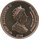2 Pence - Elizabeth II (4th portrait; Stoltenhoff Island) – obverse