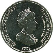 10 Pence - Elizabeth II (4th portrait; Stoltenhoff Island) – obverse