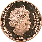 1 Penny - Elizabeth II (4th portrait; Gough Island) – obverse