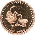 1 Penny - Elizabeth II (4th portrait; Gough Island) – reverse