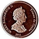 1 Penny - Elizabeth II (4th portrait; Nightingale Island) – obverse