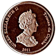 1 Penny - Elizabeth II (4th portrait; Nightingale Island) – obverse