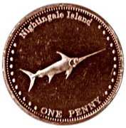 1 Penny - Elizabeth II (4th portrait; Nightingale Island) – reverse