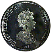 10 Pence - Elizabeth II (4th portrait; Nightingale Island) – obverse