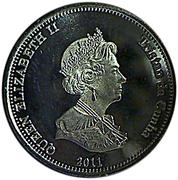 10 Pence - Elizabeth II (4th portrait; Nightingale Island) – obverse