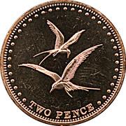 2 Pence - Elizabeth II (4th portrait; Gough Island) – reverse