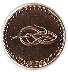 ½ Penny - Elizabeth II (4th portrait; St. Helena Dependency) – reverse