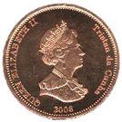 1 Penny - Elizabeth II (4th portrait; St. Helena Dependency) – obverse