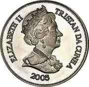 1 Crown - Elizabeth II (Pope John Paul II) – obverse