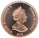 2 Pence - Elizabeth II (4th portrait; St. Helena Dependency) – obverse