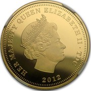 2 Sovereigns - Elizabeth II (Regent And The Lion) – obverse