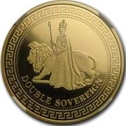 2 Sovereigns - Elizabeth II (Regent And The Lion) – reverse