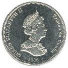 5 Pence - Elizabeth II (4th portrait; St. Helena Dependency) – obverse