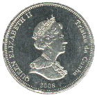 5 Pence - Elizabeth II (4th portrait; St. Helena Dependency) – obverse