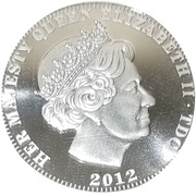 5 Pounds - Elizabeth II (Una and the lion) – obverse