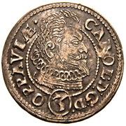 3 Kreuzer - Karl von Liechtenstein – obverse