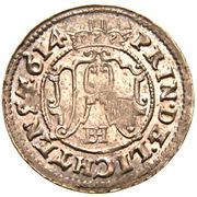 3 Kreuzer - Karl von Liechtenstein – reverse
