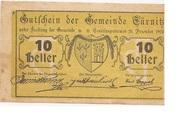 10 Heller (Türnitz) -  obverse