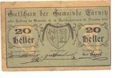 20 Heller (Türnitz). -  obverse
