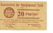20 Heller (Tulln) – obverse