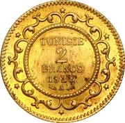 2 Francs - Muhammad VI (Essai) -  obverse